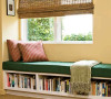 还是简单类似飘窗的书柜,舒服又实用。