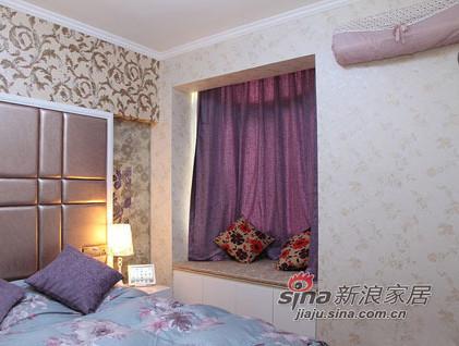 简约 三居 卧室图片来自用户2738820801在6.5万改造88平老房变欧式小窝35的分享