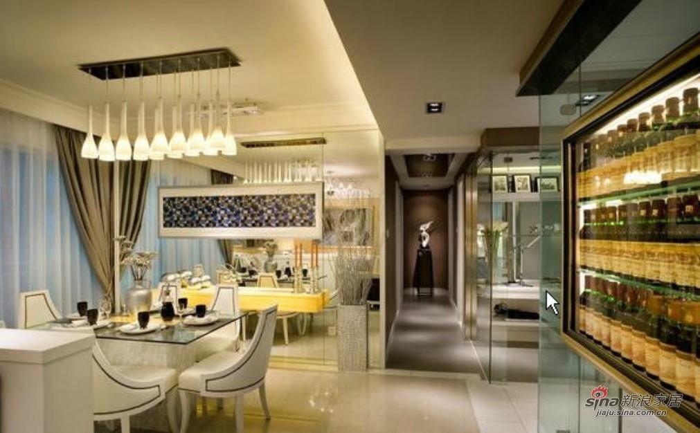 港式 三居 餐厅图片来自用户1907650565在143平银色巴黎之家92的分享