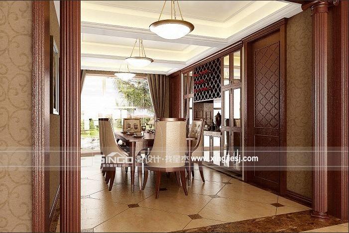 欧式 别墅 餐厅图片来自用户2746948411在奢华但不张扬的欧式风格26的分享