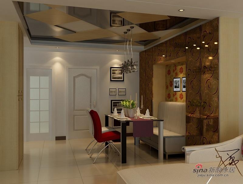 简约 三居 餐厅图片来自用户2739153147在百草园奢华主义风格43的分享