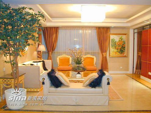 欧式 别墅 客厅图片来自用户2757317061在上海明申花园12的分享