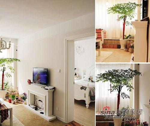 欧式 二居 客厅图片来自用户2772856065在超强45平小资女3万软装13的分享