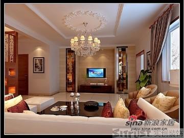 6.7W打造出自然、华贵、典雅loft的三居室26