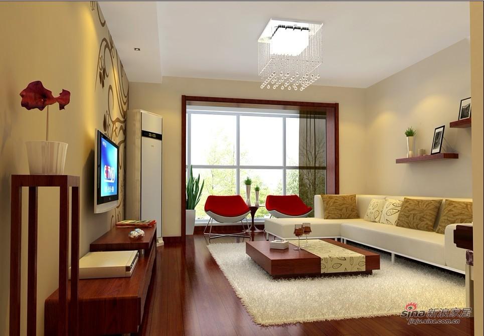 简约 二居 客厅图片来自用户2738829145在80平简约风格打造舒适生活仅需5.3万71的分享