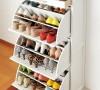 实木大容量旋转鞋柜、玄关柜。柜体背部,柜体两侧中间凹进去部位和抽屉底部是实木合层板,纯手工喷漆,硝基漆,环保性非常好