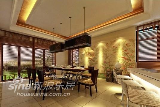 中式 别墅 餐厅图片来自用户2757926655在江南华府73的分享