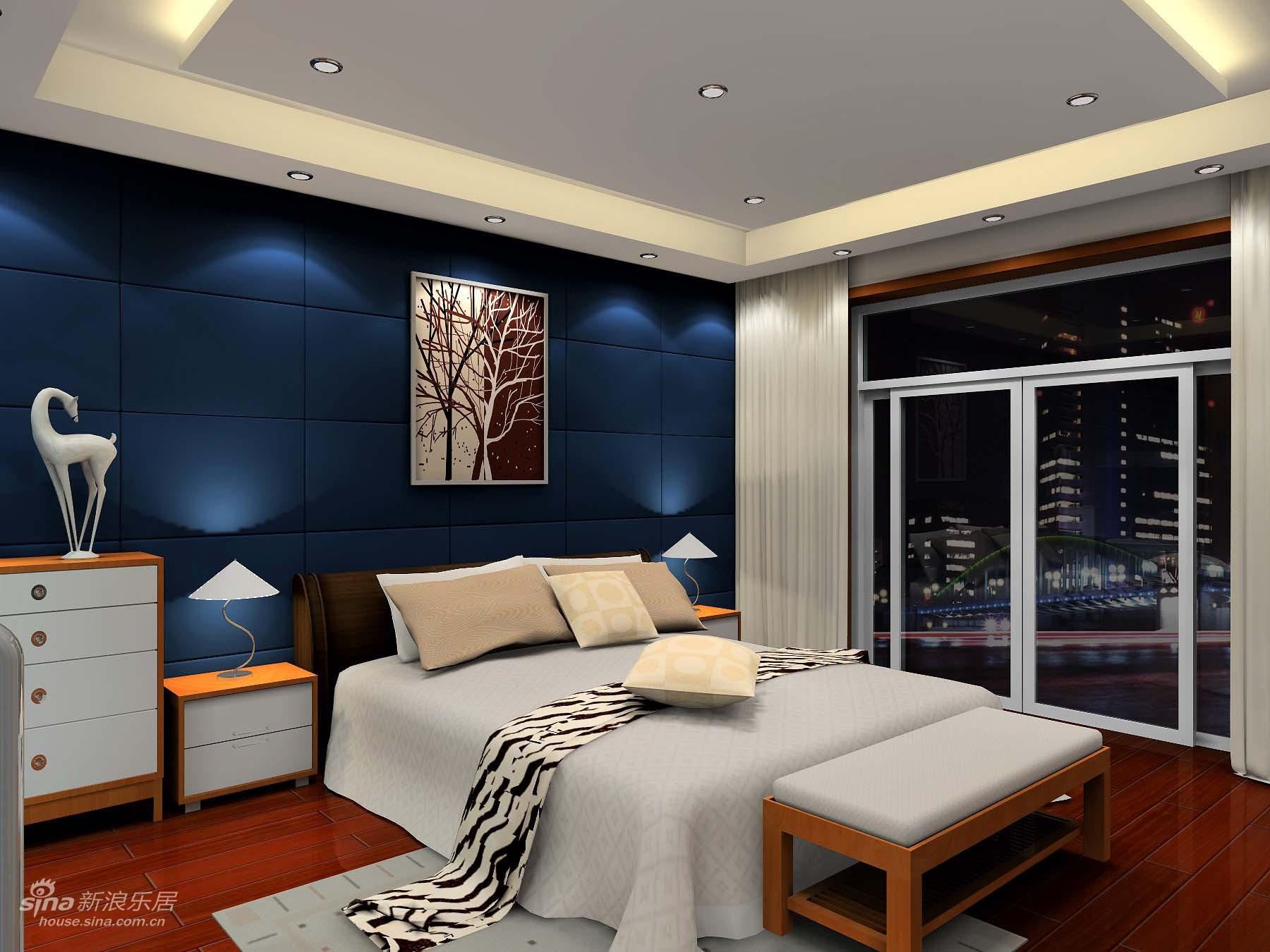 欧式 复式 卧室图片来自用户2772873991在豪华复式14的分享