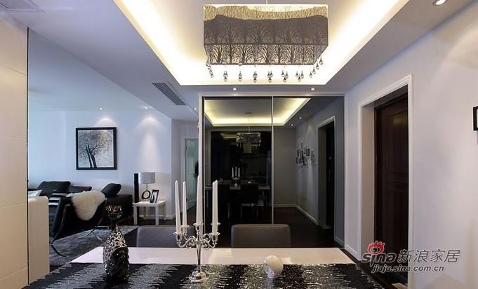 简约 二居 客厅图片来自用户2737950087在5.8万演绎100平黑白系时尚简约2居室98的分享