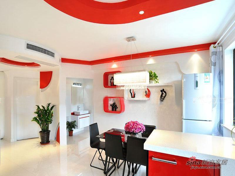 简约 一居 餐厅图片来自用户2737950087在6.5万打造红色恋曲之山楂树之恋33的分享