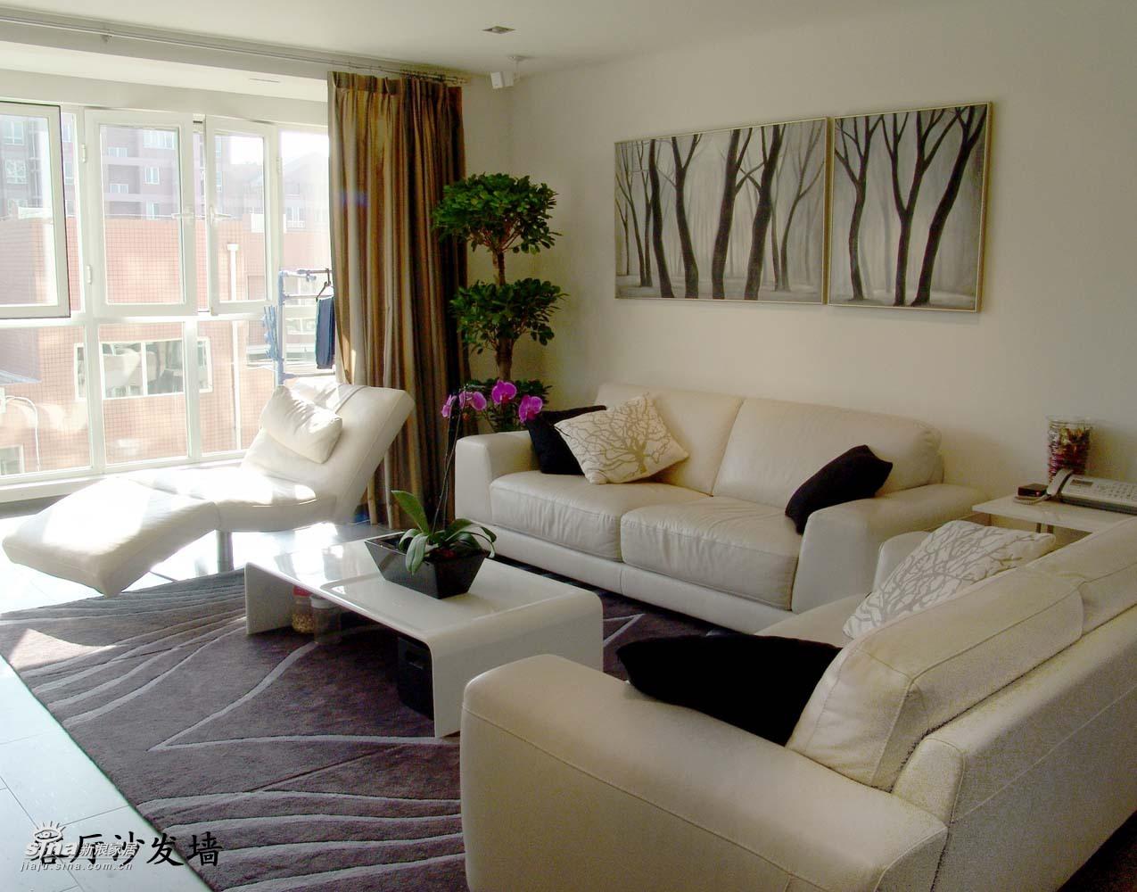 简约 四居 客厅图片来自用户2739378857在张岩作品28的分享
