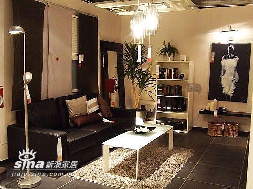 简约 一居 客厅图片来自用户2558728947在成都宜家样板间79的分享