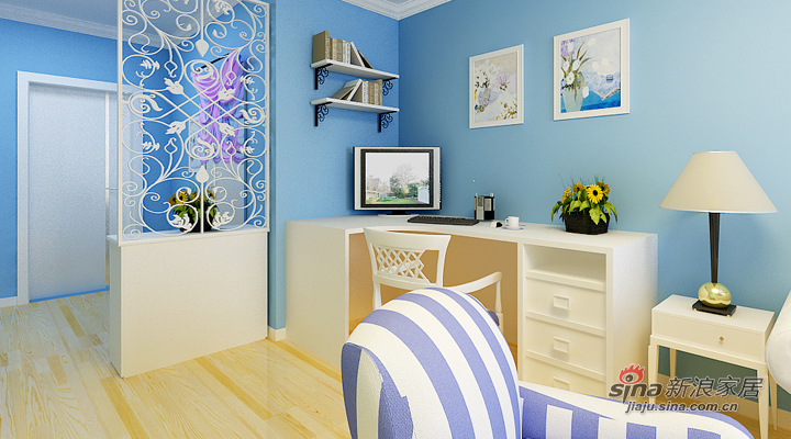 地中海 二居 客厅图片来自用户2756243717在中海风格设计98的分享