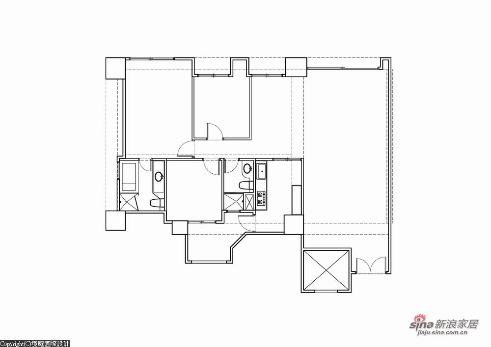 新古典 三居 其他图片来自幸福空间在【高清】165平诠释新古典居家对称线条13的分享