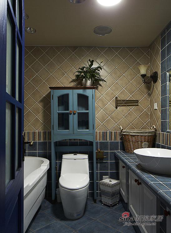 地中海 三居 卫生间图片来自用户2757320995在【高清】夫妻150平地中海浪漫3居室54的分享