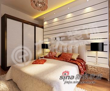 简约 二居 卧室图片来自阳光力天装饰在简约大方 稳重踏实的现代简约26的分享