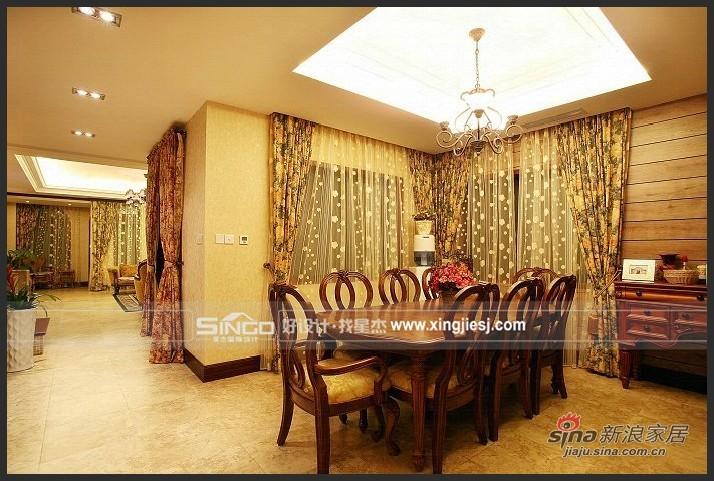 欧式 别墅 餐厅图片来自用户2746948411在古典欧式61的分享