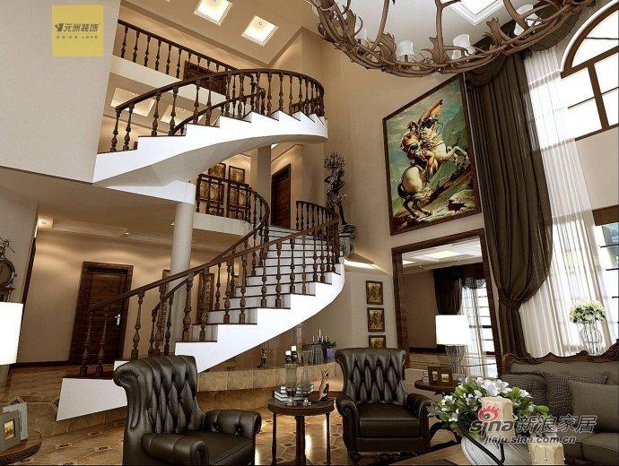 新古典 别墅 客厅图片来自用户1907701233在【高清】古典风格别墅设计48的分享