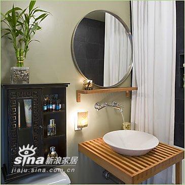 简约 其他 卫生间图片来自用户2559456651在多款舒适简洁浴室设计 轻松享受生活情趣(一)64的分享