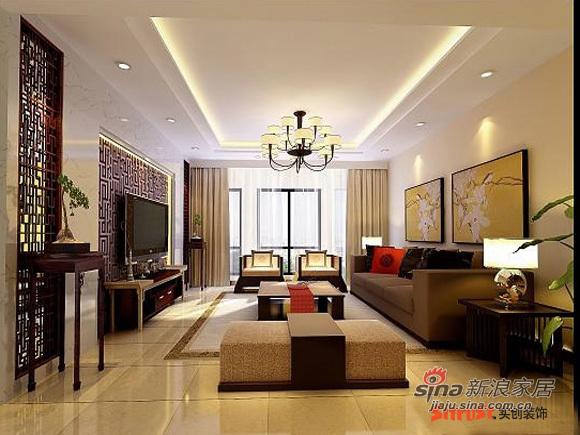 中式 三居 客厅图片来自用户1907662981在10打造世华水岸150㎡中式风格37的分享