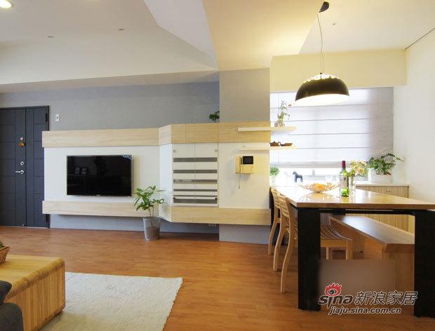 简约 二居 厨房图片来自用户2745807237在4.3万打造70平简约超强收纳2居31的分享
