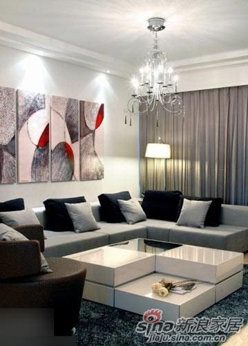 简约 三居 客厅图片来自用户2737786973在18万装180平米中年的奢华简约三居81的分享