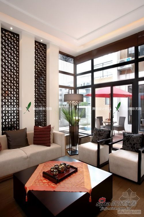 中式 别墅 客厅图片来自用户1907659705在萧氏设计——情韵中国39的分享