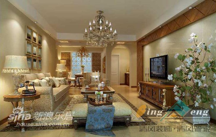 其他 别墅 客厅图片来自用户2737948467在苏州清风装饰设计师案例赏析1167的分享