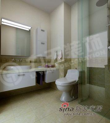 简约 二居 卫生间图片来自阳光力天装饰在犀地 明亮中的宁静58的分享
