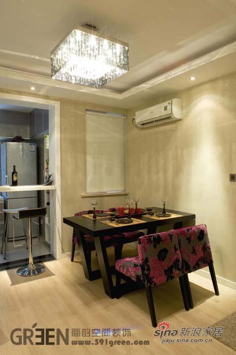 简约 二居 餐厅图片来自阁韵空间装饰在悠悠新东方51的分享