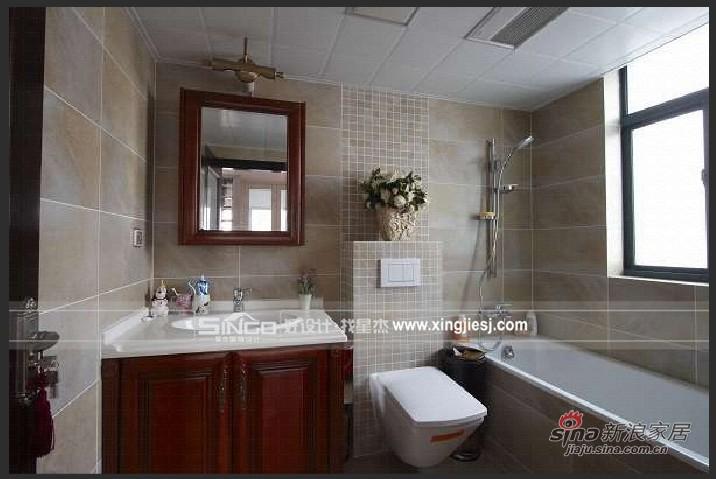 简约 别墅 卫生间图片来自用户2737735823在奢华的简欧混搭风格45的分享