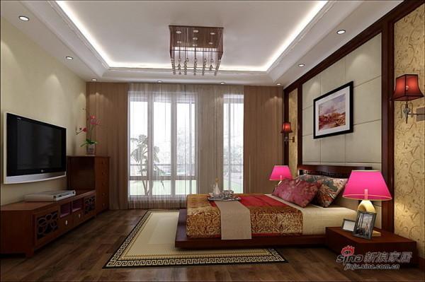 简中式卧室设计