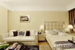 现代 一居 客厅 公主房图片来自装修微日记在【高清】单身贵族32平精致时尚公寓93的分享