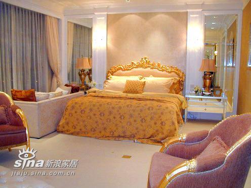 欧式 别墅 卧室图片来自用户2757317061在上海明申花园12的分享
