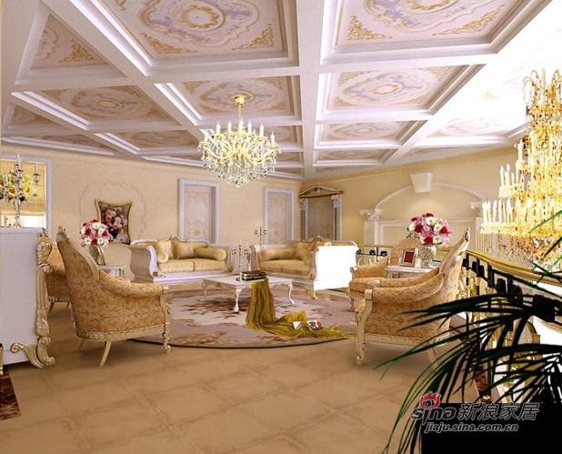 欧式 别墅 客厅图片来自用户2746869241在别墅奢华中的霸气78的分享