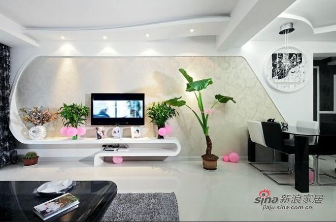 简约 三居 客厅图片来自用户2738820801在6.2万打造80后夫妇3居爱家39的分享