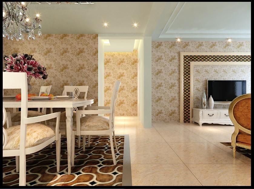 欧式 三居 玄关图片来自用户2557013183在120平米大气奢华现代简欧89的分享