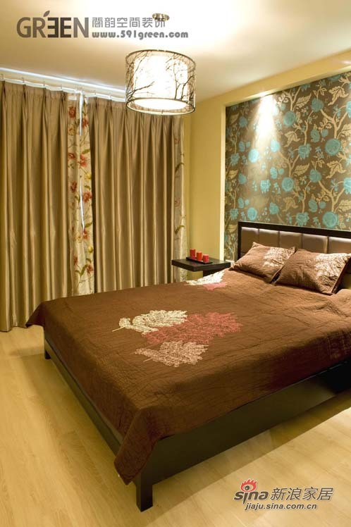 简约 二居 卧室图片来自阁韵空间装饰在悠悠新东方51的分享