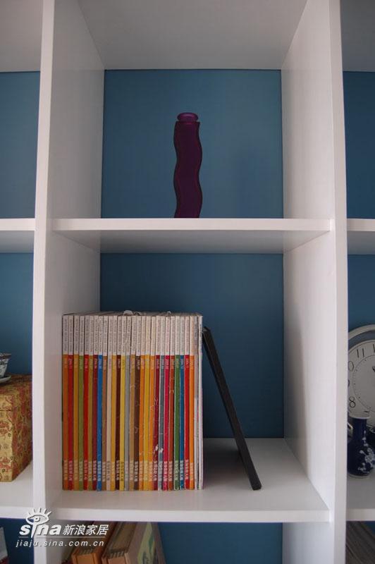 简约 复式 书房图片来自用户2737759857在五十多平的楼中楼75的分享