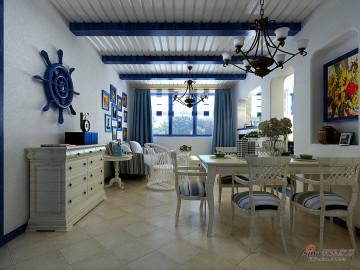 89平蓝色海洋两居室70