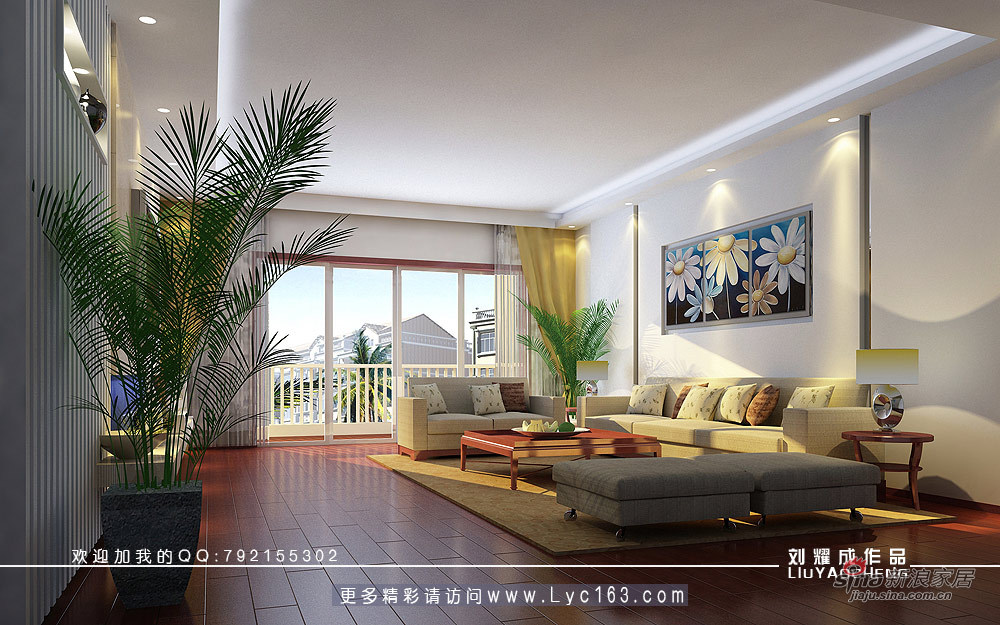简约 四居 客厅图片来自用户2738829145在不一样的风采75的分享