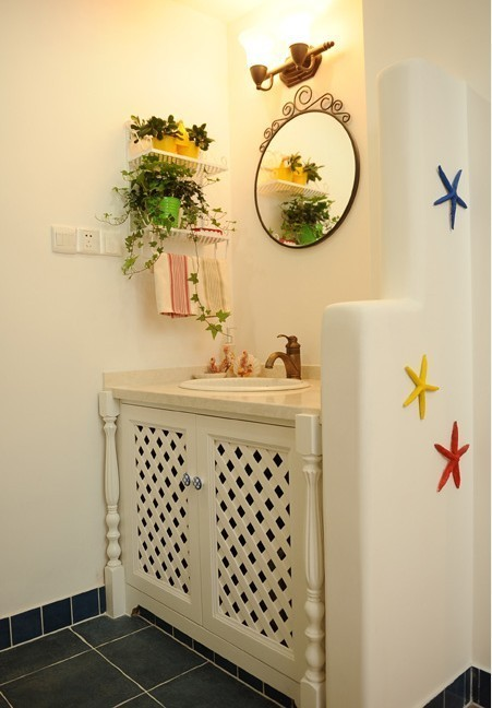 田园 二居 卫生间图片来自用户2737791853在和平里90平旧房换新貌39的分享