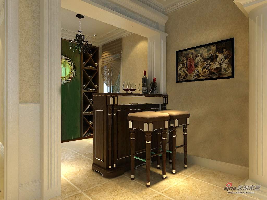 欧式 别墅 餐厅图片来自用户2746948411在别墅的欧式美41的分享