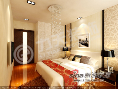 现代 一居 卧室图片来自阳光力天装饰在温馨典雅  安逸舒适 简约不简单71的分享
