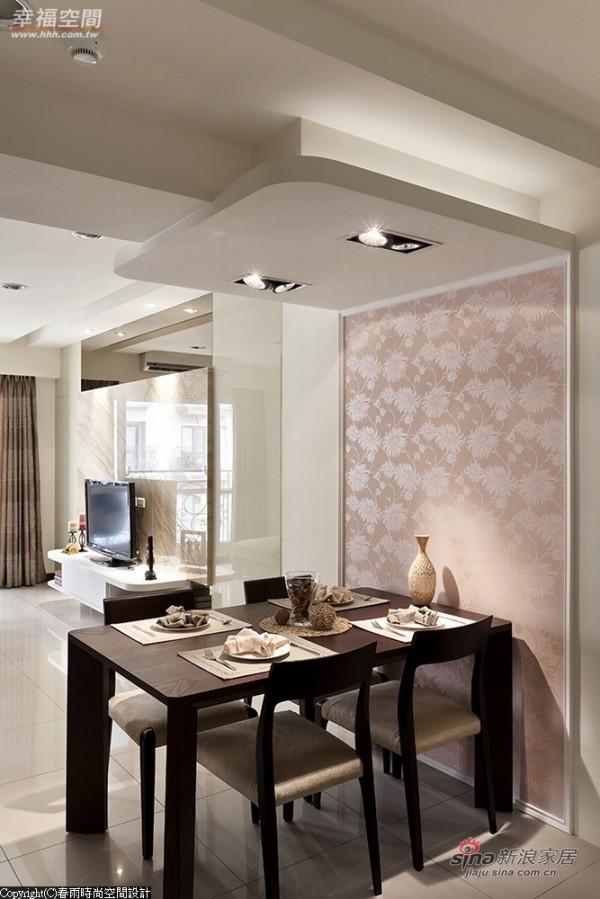 木质餐桌映衍空间主体性