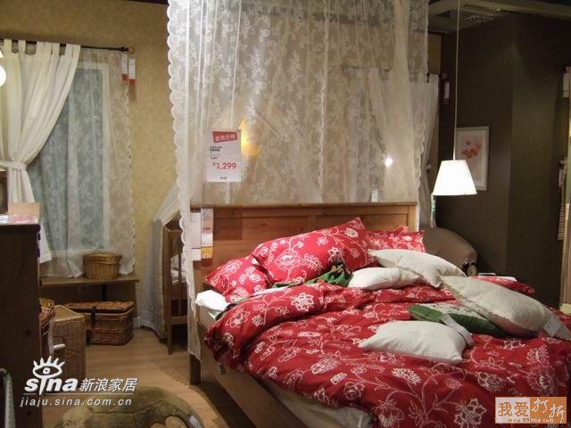 简约 一居 卧室图片来自用户2738829145在北京宜家样板间系列五90的分享