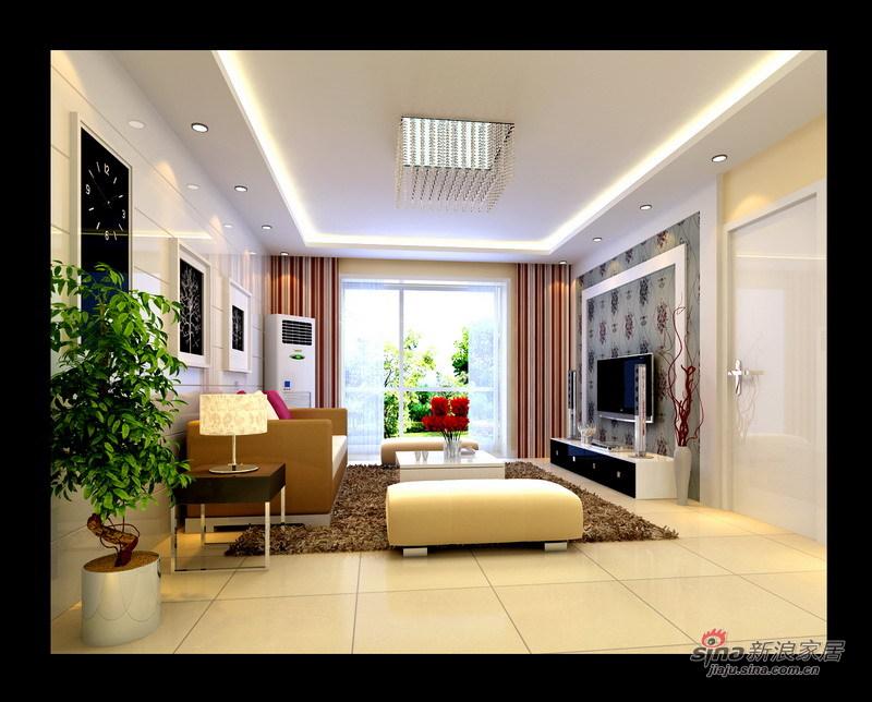 简约 三居 客厅图片来自用户2737782783在身订置百草园123平米时尚简约风73的分享