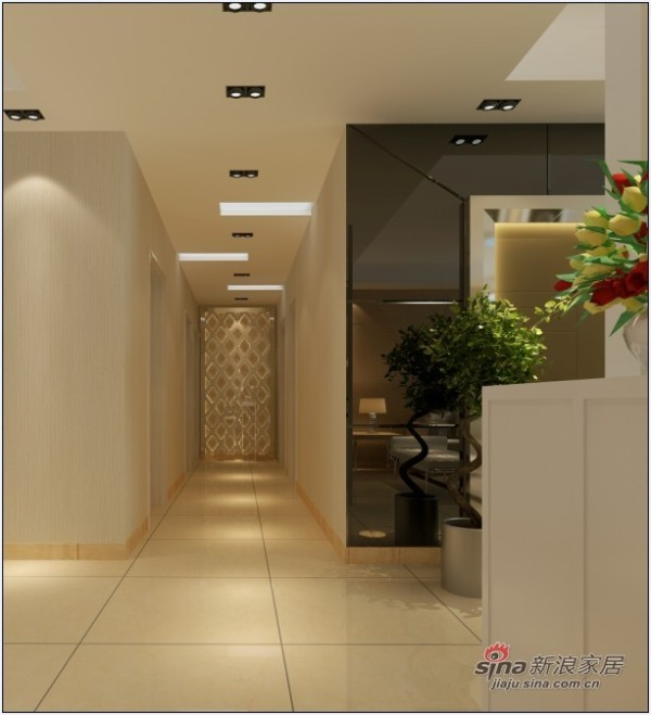 简约风格设计100平米功能性3居