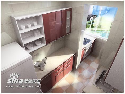 简约 四居 厨房图片来自用户2738829145在简约不简单53的分享
