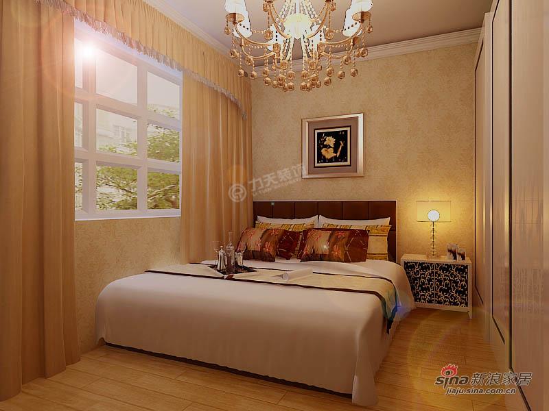 欧式 三居 卧室图片来自用户2772873991在欧美小镇117平米-三室两厅-简欧风格48的分享